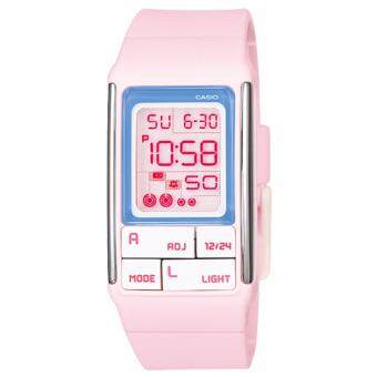 นาฬิกาข้อมือสำหรับผู้หญิง Casio Poptone รุ่น LDF- 51- 4ADR (Pink)
