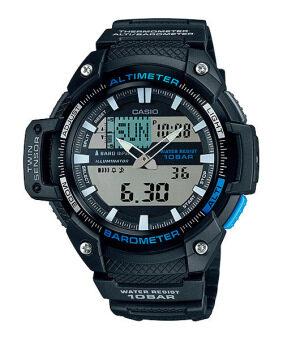 Casio Outgear นาฬิกาข้อมือชาย สีดำ สายเรซิ่น SGW-450H-1A