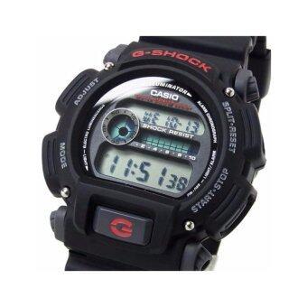 Casio Men's DW-9052V-1CR G-Shock Digital Quartz Canvas Strap Grey Watch (Intl)ประกันcmg