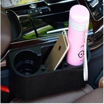 7-fifteen ที่วางแก้ว 3 in 1 อเนกประสงค์ ระหว่างเบาะ กันของ ตก Cup Holder Car multifunction car racks car phone holder cup holder spacer glove box triple