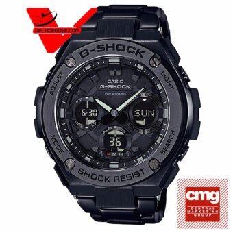 Casio G-shock G-STEEL นาฬิกาข้อมือชาย 2 ระบบ สายสแตนเลส รุ่น GST-S110BD-1B