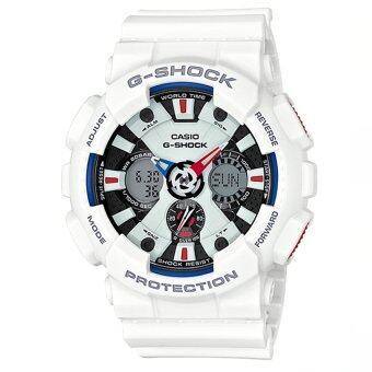 Casio นาฬิกาข้อมือ G-shock Tri Color Ana-Digital - รุ่น GA-120TR-7ADR