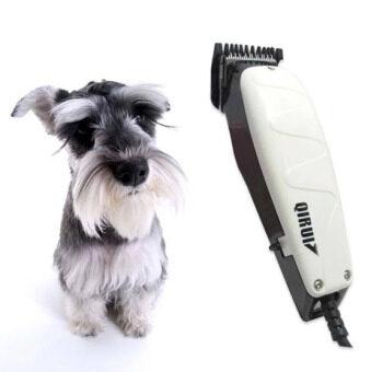 Sassy ปัตตาเลี่ยนตัดขนสุนัข พร้อมอุปกรณ์ตกแต่ง ตัดเล็ม ได้ทุกส่วน เซ็ทสุดคุ้ม รุ่น QR-PETa - White