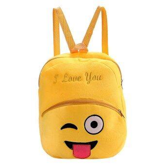 แฟชั่นหน้ายิ้ม Emoji กระเป๋าเป้กระเป๋านักเรียนเด็ก (ซน)