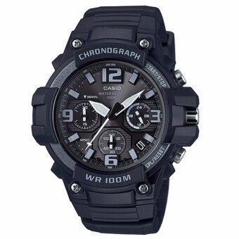Casio MCW-100H-1A3V นาฬิกาผู้ชาย สายเรซิ่น