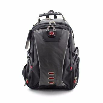 Harga Swiss Gear Backpack KW128/18 /GY - Grey Big Size