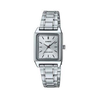 Casio Lady นาฬิกาข้อมือผู้หญิงสายสเตนเลส รุ่น LTP-V007D-7E