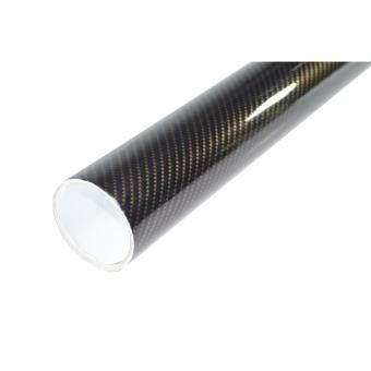 Alicar สติ๊กเกอร์เคฟล่า 2D - สีดำทอง (20x76cm)