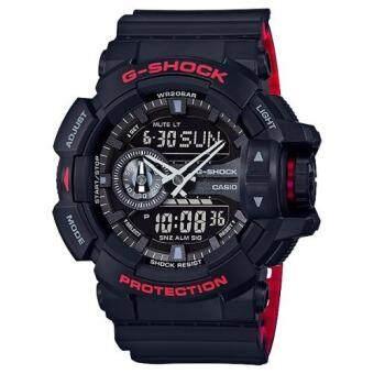 Casio G-Shock นาฬิกาข้อมือผู้ชาย สายเรซิ่น รุ่น GA-400HR-1A