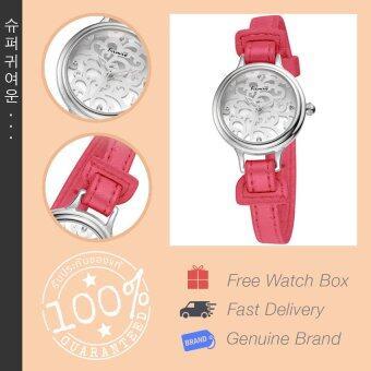 Kimio นาฬิกาข้อมือผู้หญิง สายหนัง รุ่น KW541S-S0111 - สีแดง