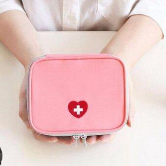 กระเป๋ายา กระเป๋าจัดเก็บยา ฉุกเฉิน สำหรับการเดินทาง สำหรับพกพาเดินทาง