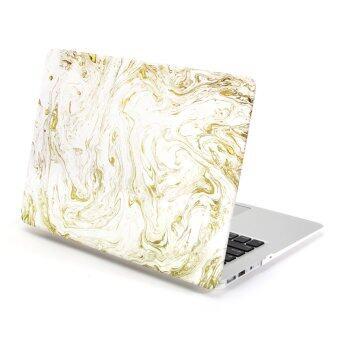 GMYLE เคส MacBook Air 13 นิ้ว (ลายเพ้นท์หมุนวน)