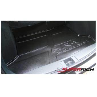 SA ถาดยางปูพื้นสัมภาระ ถาดท้ายเอนกประสงค์สีดำ (trunk Tray) / Honda HR-V 2015