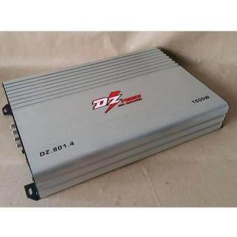 เพาเวอร์แอมป์/ขับเสียงกลางแหลม 4CH. DZ รุ่นDS-801.4 1600W