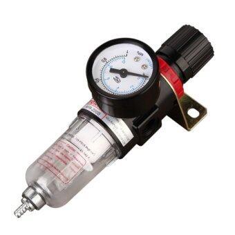 ชุดกรองลมดักน้ำปรับแรงดันลม ขนาด1/4 รุ่น AFR2000 Air Filter Regulator