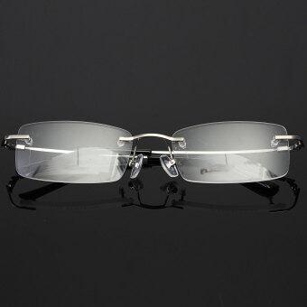 คนของความทรงจำขนาดเล็กแบบพกพาไทเทเนียมกรอบ Fashional แว่นตาแว่นตาเงิน
