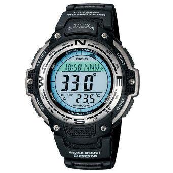 Casio Outgear นาฬิกาข้อมือผู้ชาย Black Resin Strap รุ่น SGW-100-1VDR