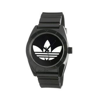 Adidas นาฬิกา Santiago Unisex Watch รุ่น ADH2653 สีดำ (Black)