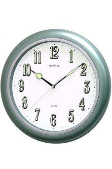 RHYTHM นาฬิกาแขวน รุ่น CMG728NR05 (Metallic Green)
