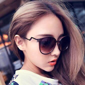 KPshop แว่นกันแดดผู้หญิง แว่นตาแฟชั่น แว่นตาเกาหลี รุ่น LG-052