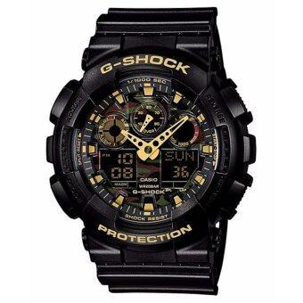 Casio G-Shock นาฬิกาข้อมือรุ่น GA-100CF-1A9DR - ประกัน CMG 1 ปี