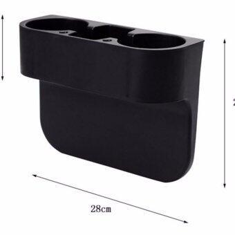 CUP AND MOBLIE CAR HOLDER (BLACK) ที่วางแก้วกับที่วางมือถือบนรถ