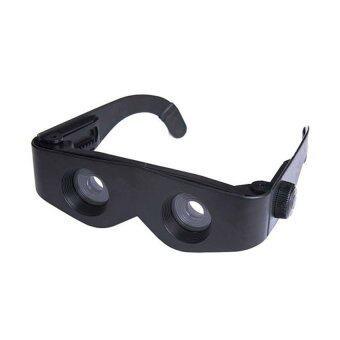 Daisi1แถม1 แว่นตาขยายได้400เท่า แว่นตาซูมใช้แทนกล้องส่องนก เป็นแว่นขยายรูปทรงสวยงามเป็นแว่นตาแฟชั่น Daisi0096ดำ