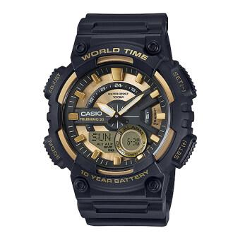 Casio Standard นาฬิกาข้อมือ 10 year battery รุ่น AEQ-110BW-9AV