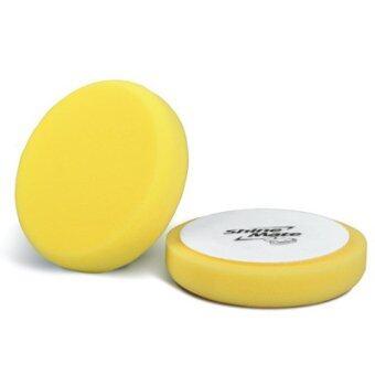 SHINE MATE ฟองน้ำขัดเคลือบสีรถ รุ่น Flat สีเหลือง ขนาด 7 นิ้ว
