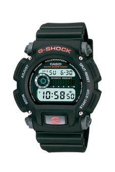 Casio G-Shock นาฬิกาข้อมือผู้ชาย สีดำ สายเรซิ่น รุ่น DW-9052-1