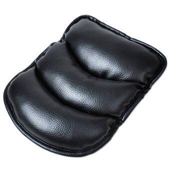 Gracefulvara รถเอสยูวีเท้าแขนคอนโซลกลางเบาะปูเสื่อเสื้อปลอกรองรองรับ-สีดำ
