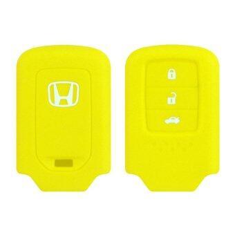 ซิลิโคนกุญแจ HONDA 04 สีเหลือง