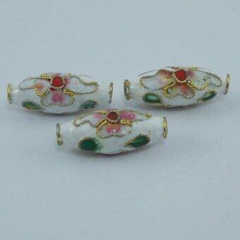 Pearl Jewelry ลูกปัดกังใสจีนลงยา Pendant 11