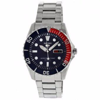 Seiko นาฬิกาข้อมือชาย SNZF15J1 Dark Blue Dial Watch