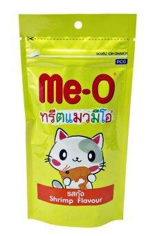 Me-O ทรีตแมวมีโอ รสกุ้ง 50g.x3 ถุง