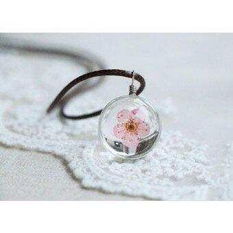 Meaningful Jewelry สร้อยคอนำโชค [Love : ความรัก] สร้อยคอดอกไม้จริง Blossom