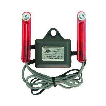 SCH XFlash ไฟแฟลช คู่ - สีแดง