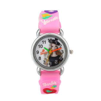 2559 เด็กใหม่เด็กแฟชั่นสร้อยข้อมือนาฬิกาข้อมือนาฬิกาของขวัญลายการ์ตูน