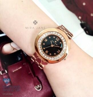 นาฬิกาข้อมือ Diamonds and a Girl DG0366