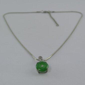 Pearl Jewelry สร้อยคอจี้หยก JD14