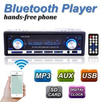 เครื่องเสียงรถยนต์บลูทูธ Mp3 USB/SD เล่นเครื่องเล่นออดิโอรอง 1 din ในพุ่งกระจาย