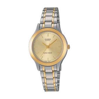 Casio Standard นาฬิกาข้อมือ รุ่น LTP-1128G-9ARDF - Silver/Gold