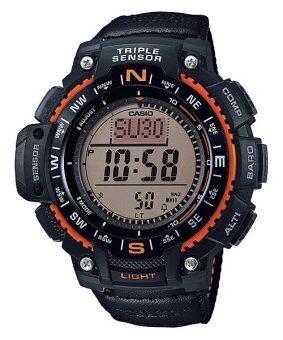 Casio Outgear นาฬิกาข้อมือชาย สีดำ สายเรซิ่น SGW-1000B-4A