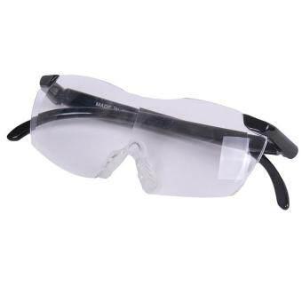 แว่นตาแว่นขยายหญ้าคาแฮนด์ฟรีหนังสือเสียงแตรใหญ่ Magmification แว่นสายตา 160องศา