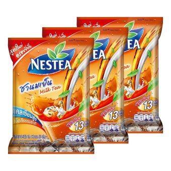 NESTEA เนสที ชานมเย็นปรุงสำเร็จ 35 กรัม x 13 ซอง (รวม 3 แพ็ค ทั้งหมด 39 ซอง)