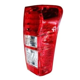 ISUZU-Propart เสื้อไฟท้าย LED เเดง D-MAX ALL NEW 2012 ตราเพชร RH