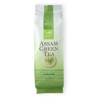 ชาเขียวอัสสัมไร่ชาฉุยฟง แบบใบอบแห้ง ขนาด 100 กรัม