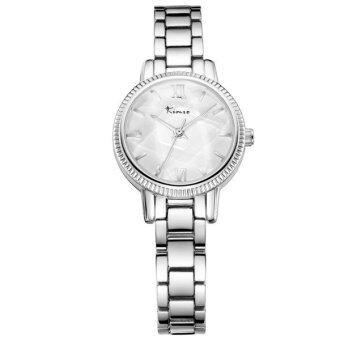 Kimio นาฬิกาข้อมือผู้หญิง สายสแตนเลส สีเงิน รุ่น KW6139
