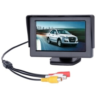 """ETOP 4.3 TFT LCD Car Monitor Reverse Rearview Color Camera DVD VCR CCTV ( Intl)"""""""
