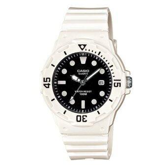 CASIO standard นาฬิกาข้อมือ sport Lady รุ่น LRW-200H-1EVDF - White/Black